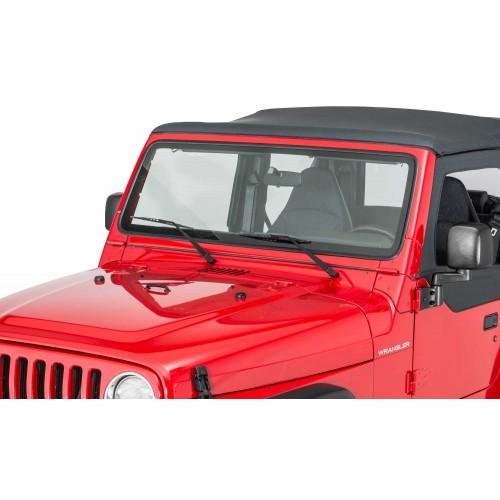 Рамка лобового стекла Crown Jeep Wrangler JK & JKU.
