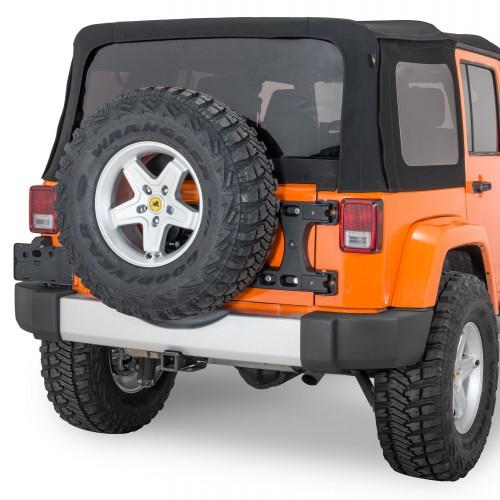 Калитка запасного колеса Teraflex HD Hinged Carrier Jeep Wrangler JK.
