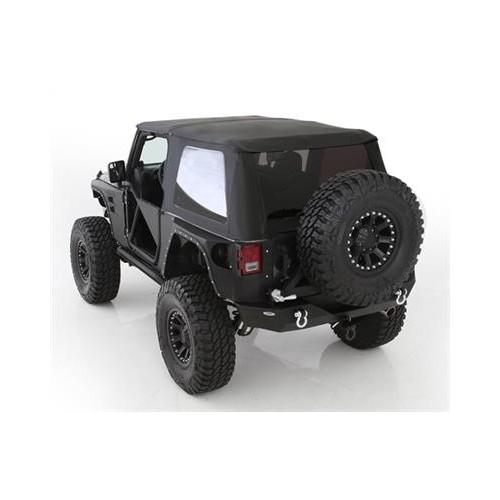 Софт-топ Trektop NX Black Bestop Jeep Wrangler Unlimited JK 4 Door.