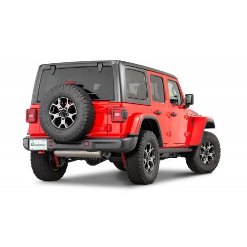 Задний бампер стальной Mopar 82215342 для Jeep Wrangler JL 2018-2020