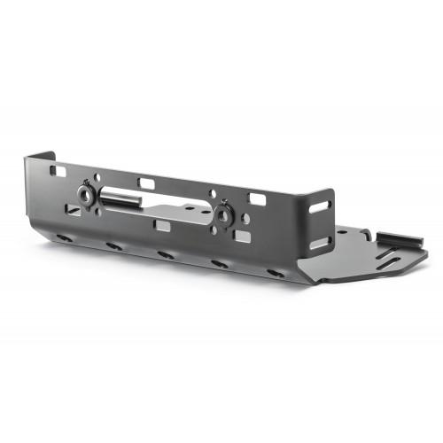 Комплект крепления лебедки для Jeep Wrangler JL  для стального бампера