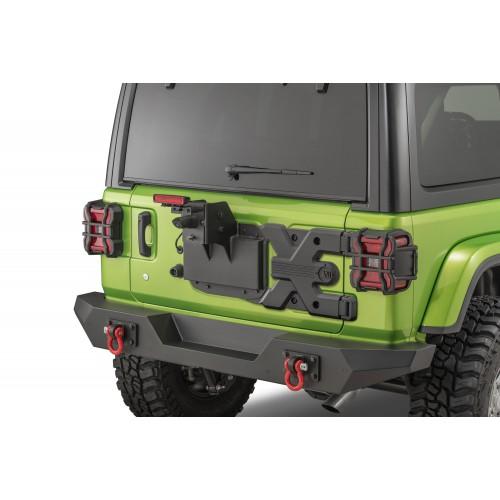 Усиление крепления запасного колеса  Rugged Ridge 11546.55 Spartacus HD для  Jeep Wrangler JL 2018-2020.