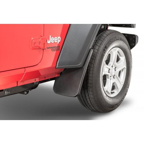 Брызговики передние Mopar 82215332AB (2 шт.) для Jeep Wrangler JL & Gladiator JT 2018-2020.