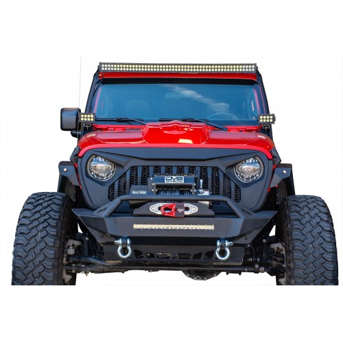 Решетка радиатора (гриль) DV8 Offroad для Jeep Wrangler JL & Gladiator JT 2018-2020.